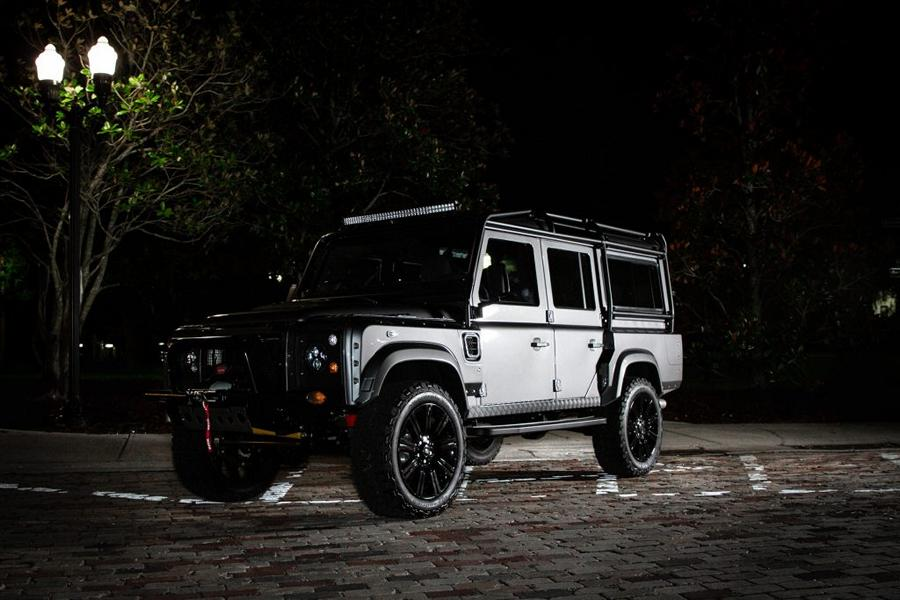 Hardly had the Land Rover Defender Project Evolution come out when another similar remake, titled Project Storm, got announced