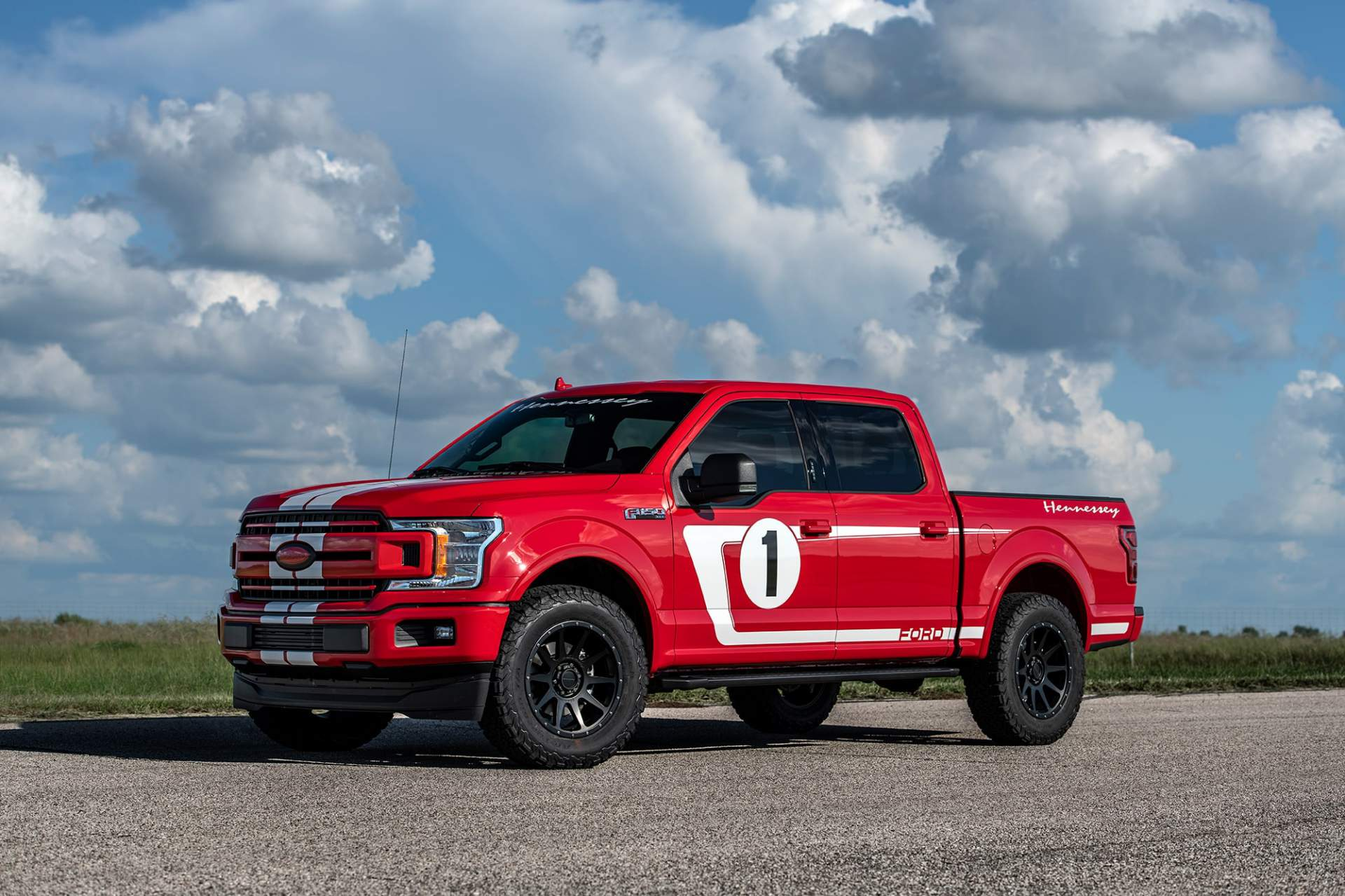Buyers may choose between two versions of the Hennessey Heritage Edition F-150
