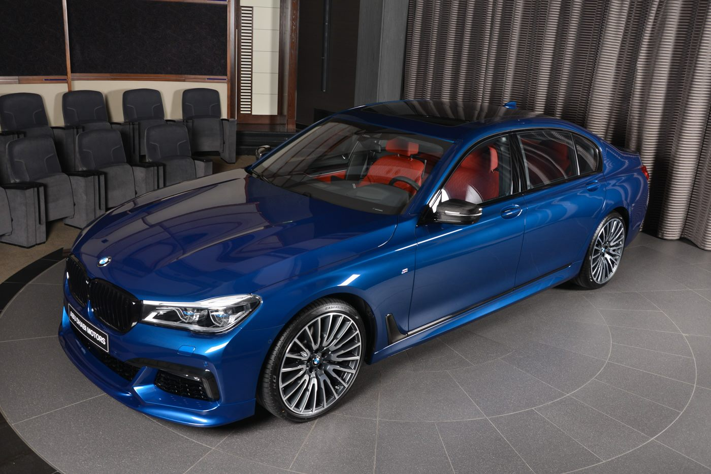 The special color scheme, alongside with a slew of further customization options, comes as a part of the BMW Individual program