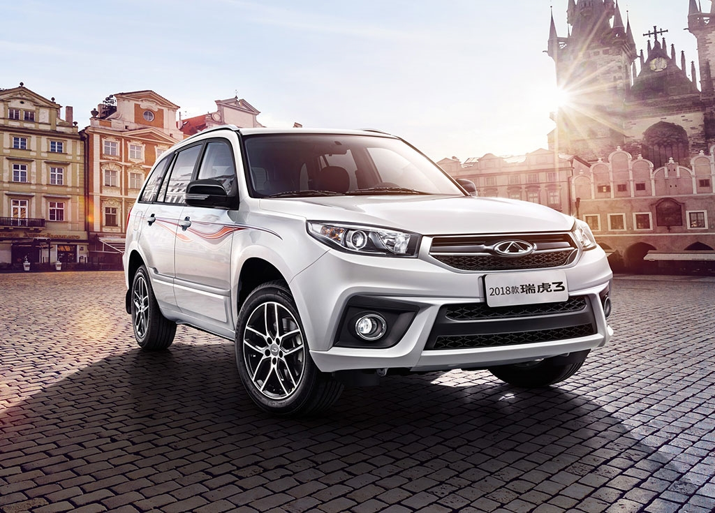 The refreshed Chery Tiggo 3 crossover SUV is now available in China starting at U.S. $9,500 for the base trim