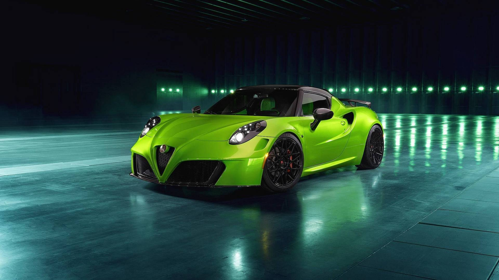 Pogea Racing has released a rather non-trivial upgrade package for the Alfa Romeo 4C sport car
