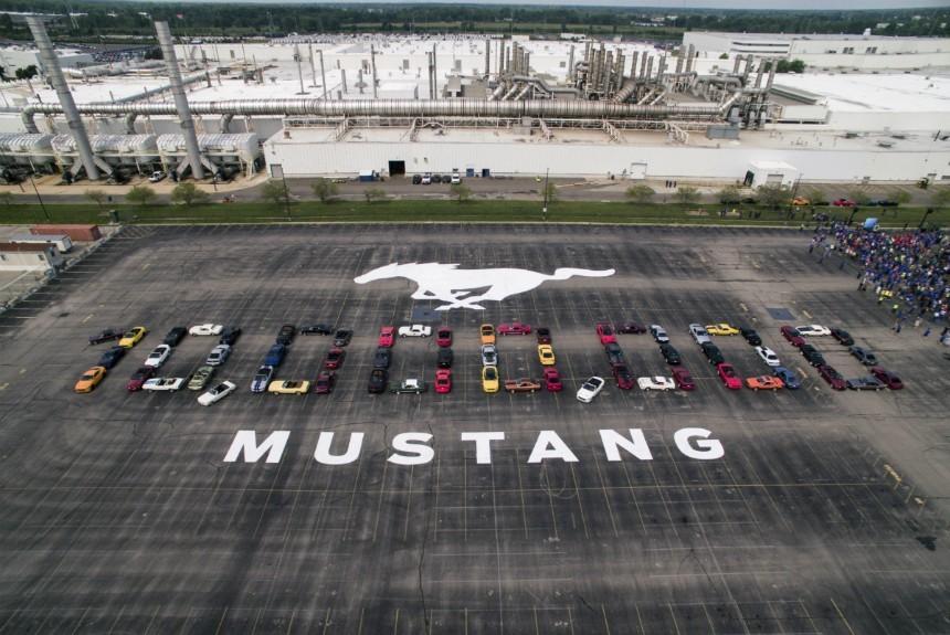 На днях компания «Форд» собрала 10-миллионный экземпляр модели Mustang