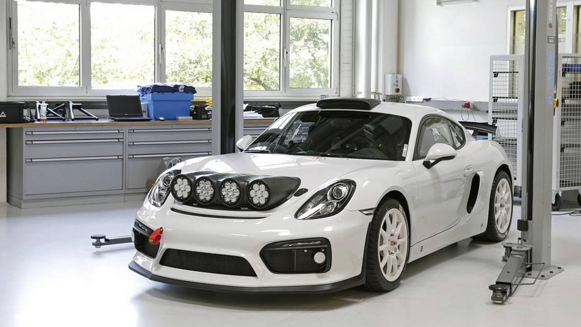 Спортивное подразделение «Порше» презентовало раллийный прототип, созданный на базе купе Cayman GT4 Clubsport